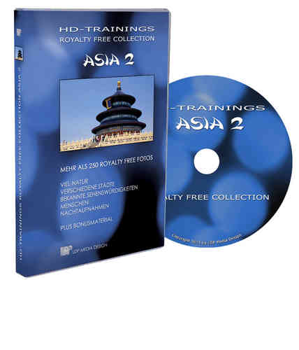 "Royalty Free Foto DVD ""Asia 2"""