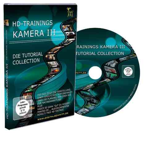 Tutorial DVD HD-Trainings Kamera III